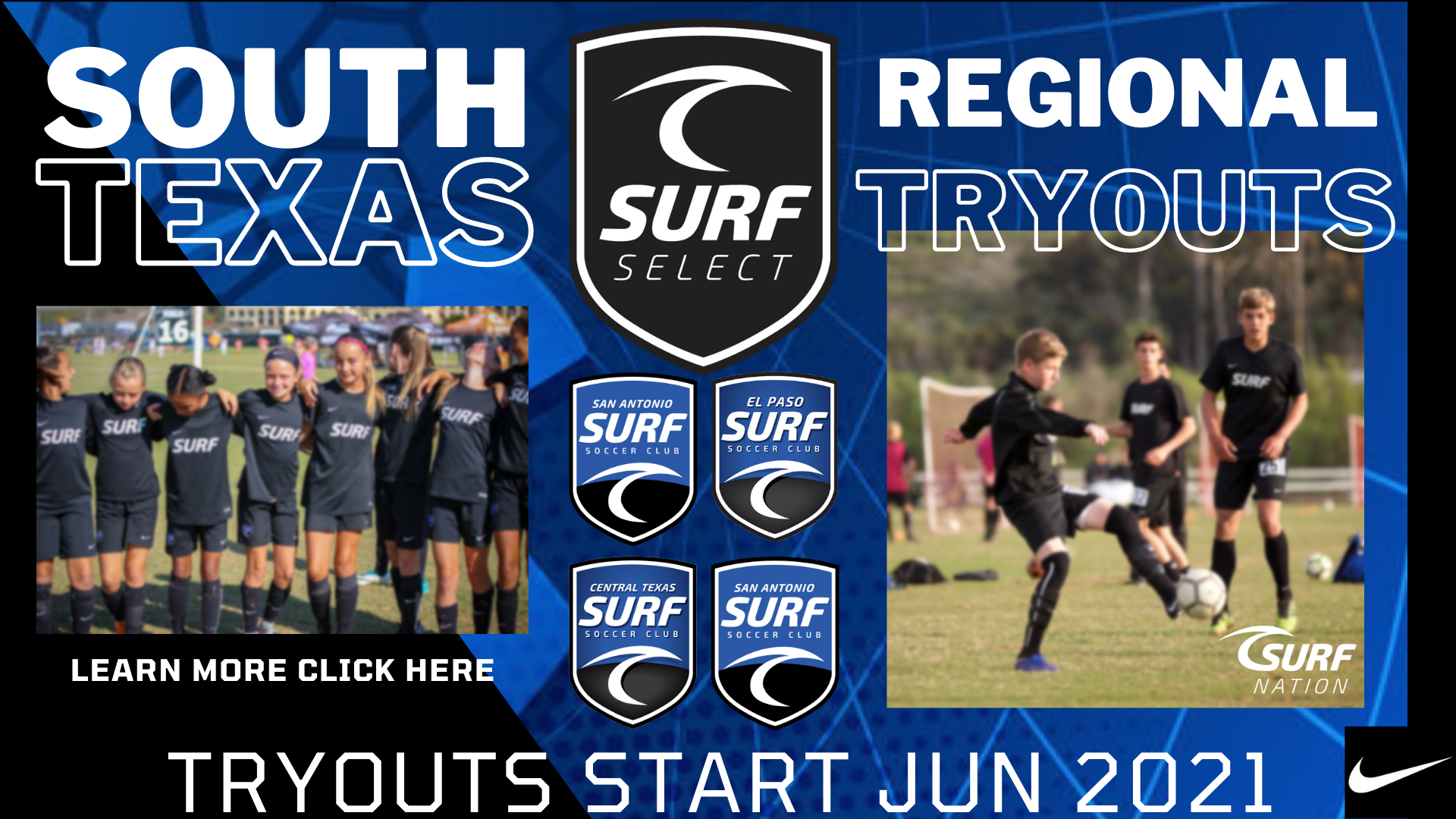 Surf Select Tryouts