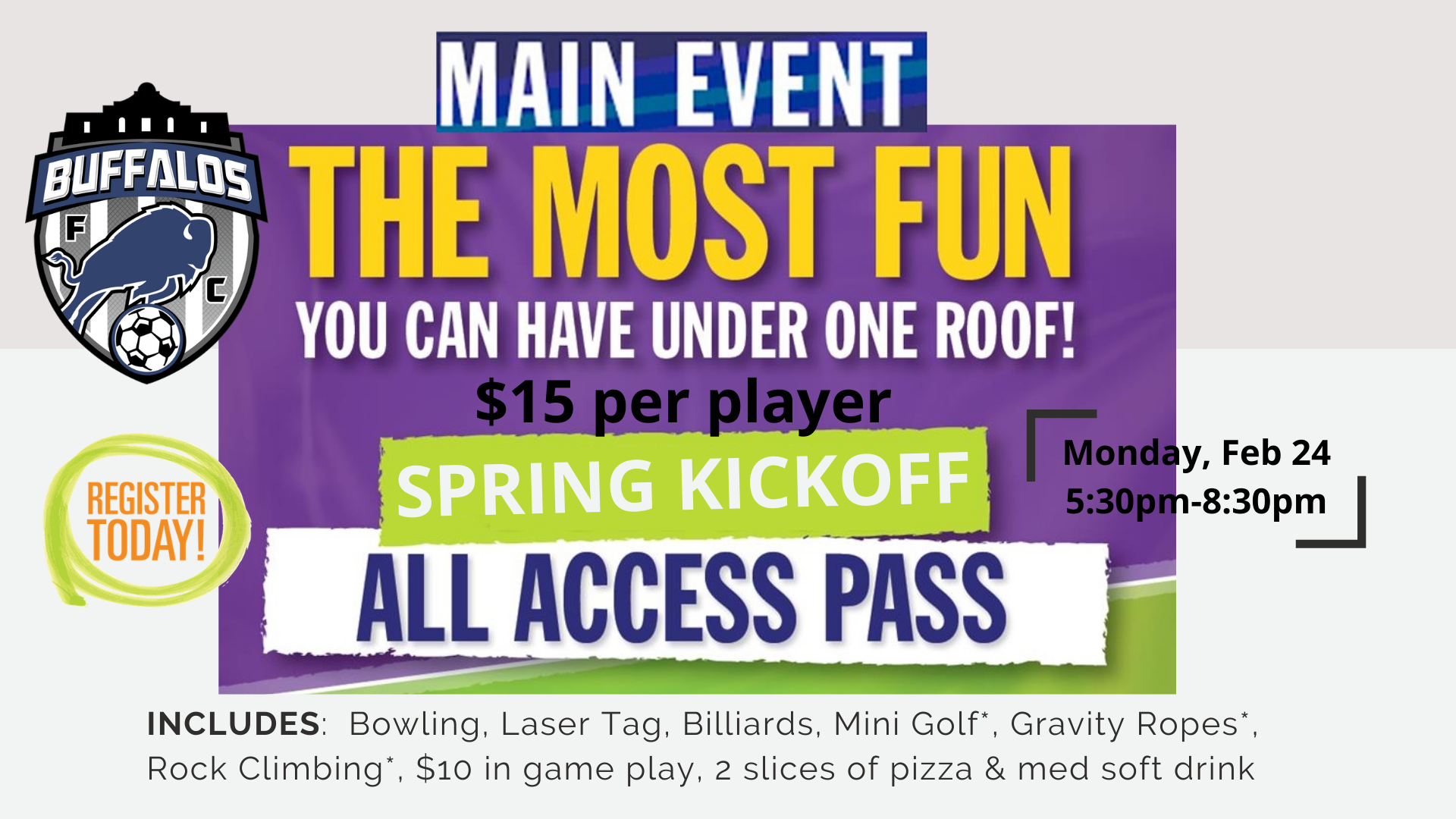 Main Event Spring Kickoff Party